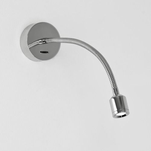 Fosso switched LED 659 Polished Chrome Reading Light (LED)