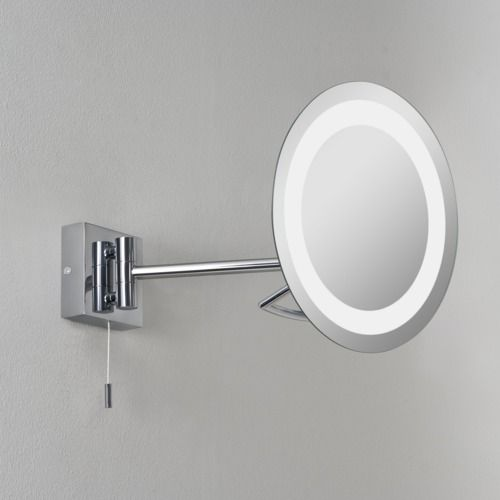 Gena 488 Polished Chrome Magnifying Mirror