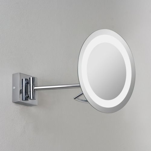 Gena plus 526 Polished Chrome Magnifying Mirror