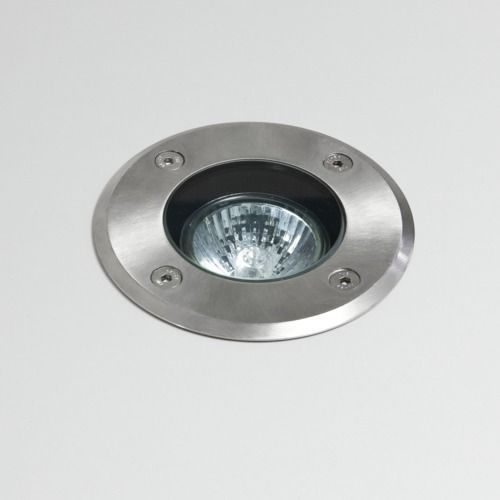 Gramos Round 7131 Brushed Stainless Steel Ground Light (LED)