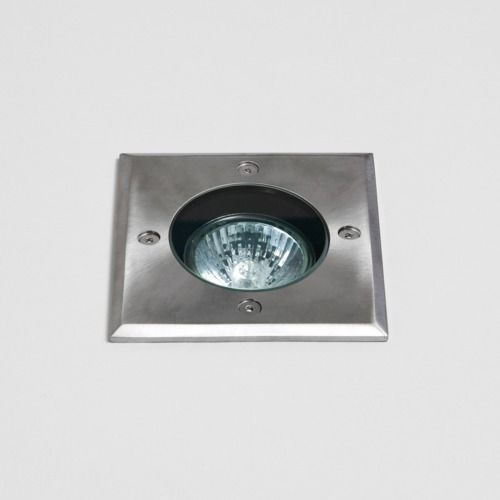 Gramos Square 7393 Brushed Stainless Steel Ground Light (LED)