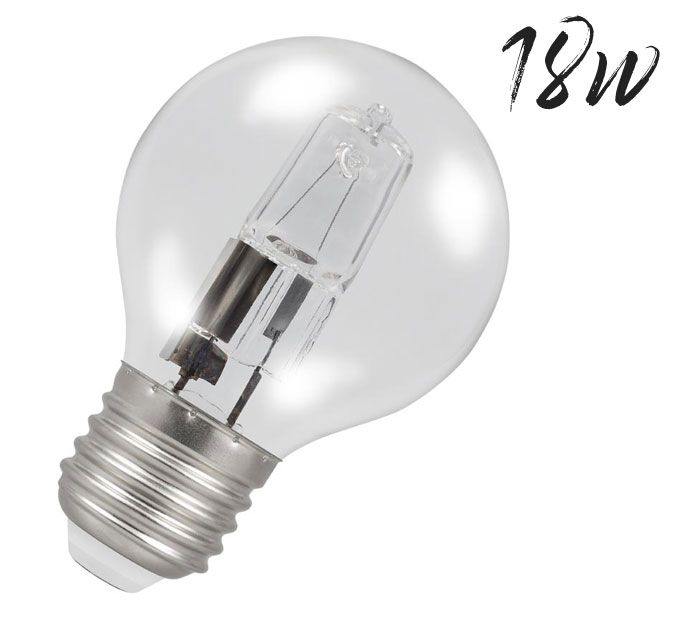 Halogen Golfball Lightbulb 18W ES Warm White (205 lumens) 803545
