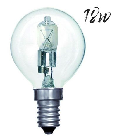 Halogen Golfball Lightbulb 18W SES Warm White (205 lumens) 803537