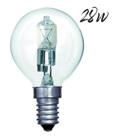 Halogen Golfball Lightbulb 28W SES Warm White (370 lumens) 803588