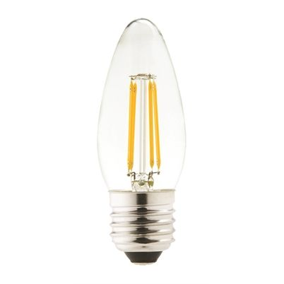 LED Candle Lightbulb 4W ES Warm White (470 lumens) 198463
