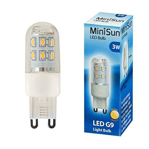 LED G9 Lightbulb 3W Warm White 3000K 300 Lumens
