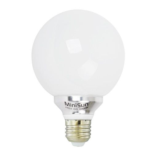 LED Globe Lightbulb 6W ES  Cool White 6000K (580 lumens) 809489