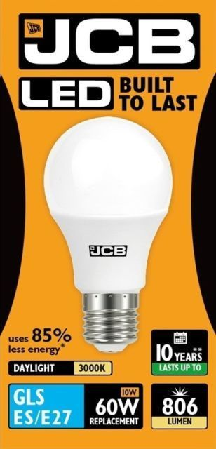 LED GLS Lightbulb 9W ES (household shape) Warm White (806 lumens) 807974