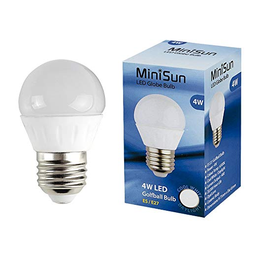 LED Golfball Lightbulb 4W ES Cool White (400 lumens) 807168