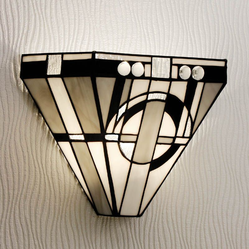 metropolitan wall light art deco wall lamp tm25w tiffany style. Black Bedroom Furniture Sets. Home Design Ideas