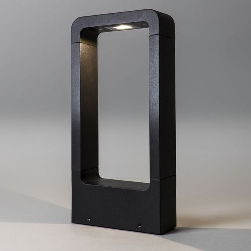 Napier LED 300 Bollard 8004 Textured Black Bollard (LED)