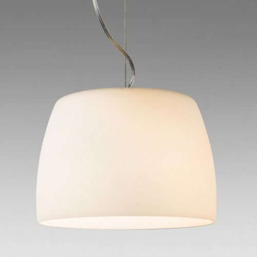 Nimis 350 7365 White Glass Pendant (light shade included)