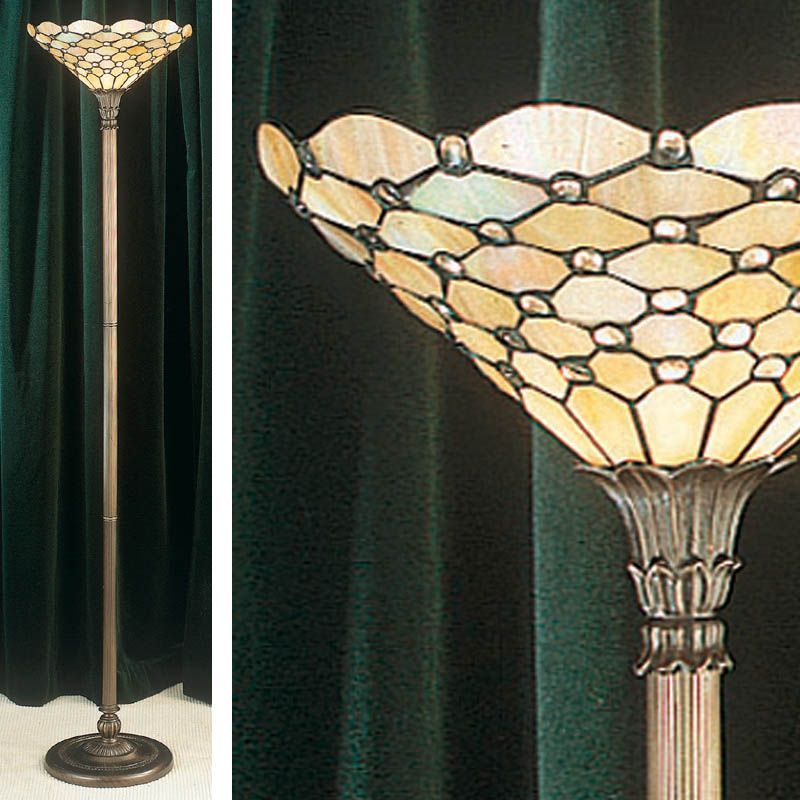 Pearl Uplighter Modern Classic Traditional Floor Lamp To6ul Tiffany Style