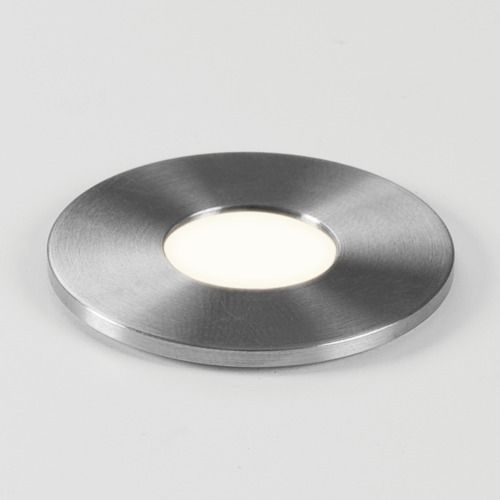 Terra Round 28 LED 7199 Brushed Stainless Steel Ground Light (LED)