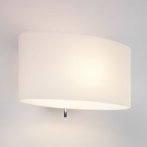 Tokyo switched 569 White Glass Wall Light