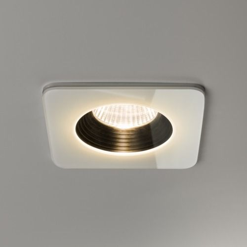 Vetro Square Fire-Rated 5731 White Downlight / Recessed Spotlight (LED)