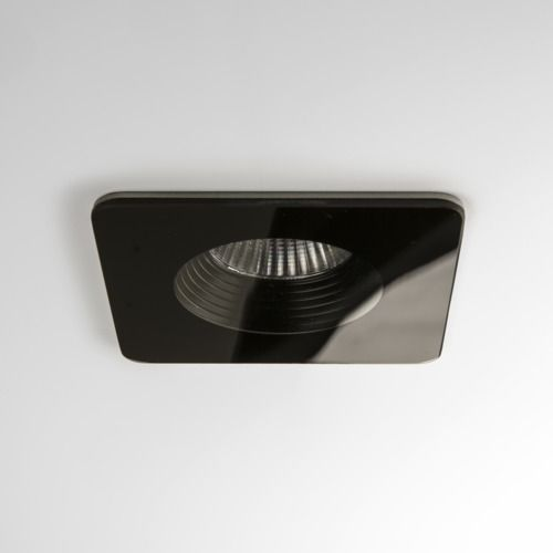 Vetro Square Fire-Rated 5732 Black Downlight / Recessed Spotlight (LED)